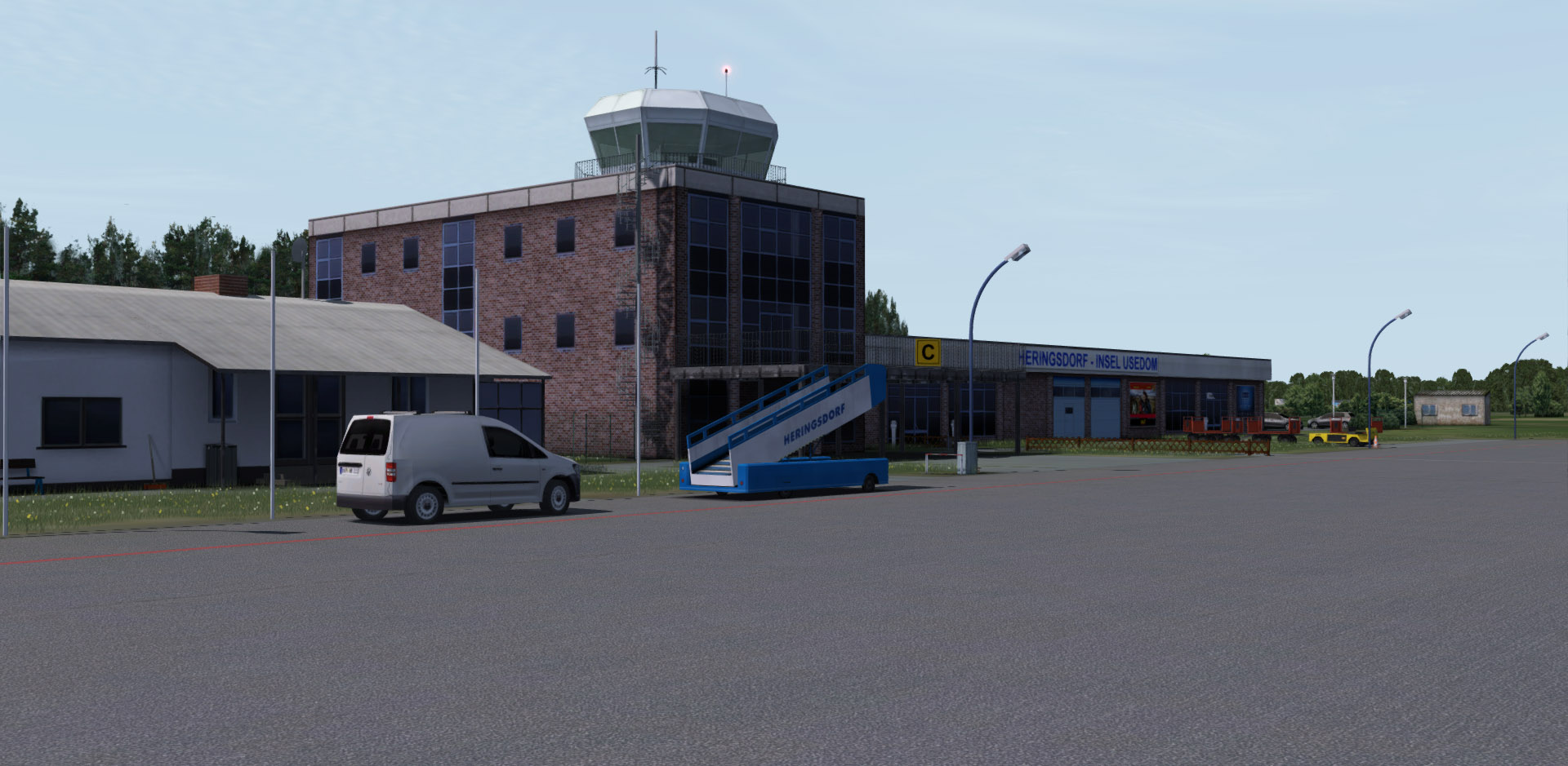 EDAH flight simulator addon for FS9, FSX & P3D