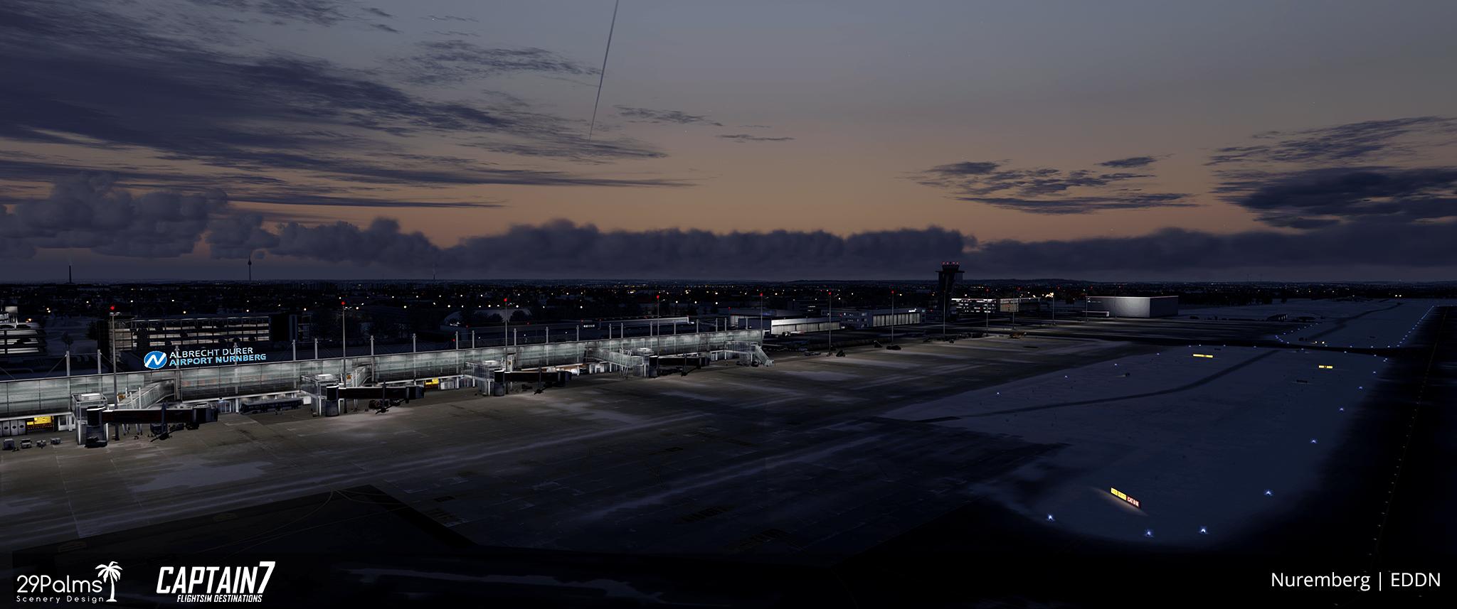 EDDN Albrecht Dürer Airport Nuremberg Scenery Addon for P3D | Captain7